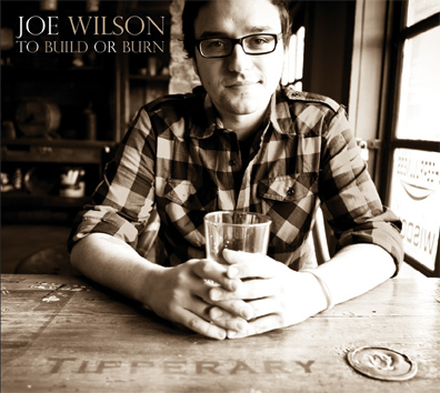 Joe Wilson To Build or Burn Album Cover